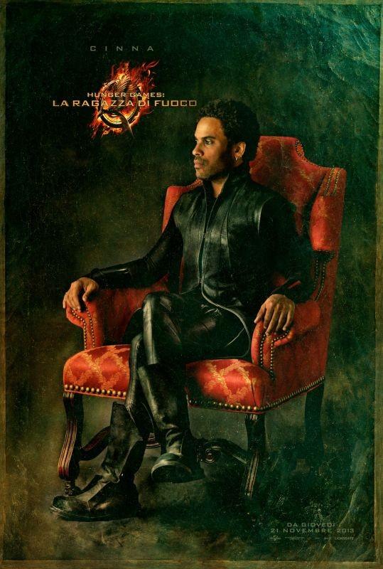 Hunger Games - La ragazza di fuoco: character poster italiano di Cinna
