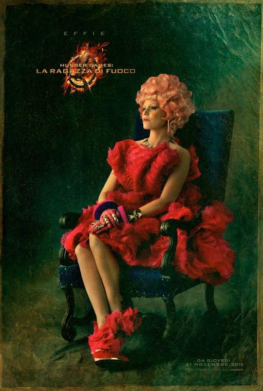 Hunger Games - La ragazza di fuoco: character poster italiano di Effie
