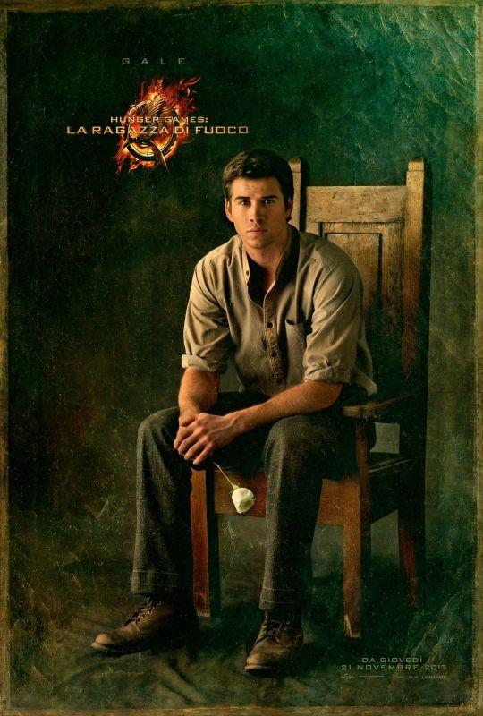 Hunger Games - La ragazza di fuoco: character poster italiano di Gale