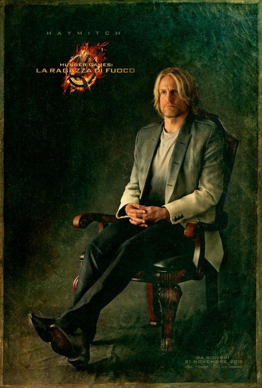 Hunger Games - La ragazza di fuoco: character poster italiano di Haymitch