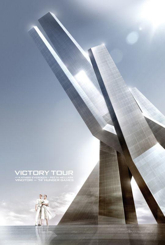 Hunger Games: la ragazza di fuoco, il primo Victory Tour Poster italiano