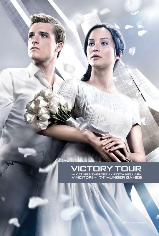 Hunger Games: la ragazza di fuoco, il Victory Tour Poster italiano