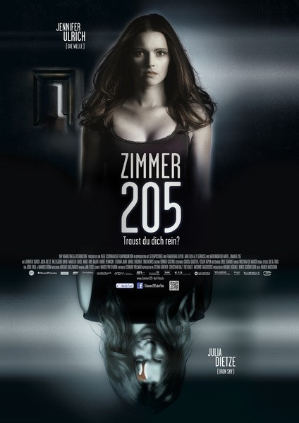205 - Zimmer der Angst: la locandina del film
