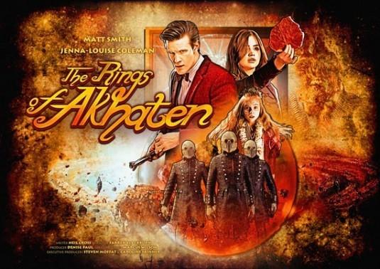 Doctor Who: un'immagine promozionale dell'episodio The Rings of Akhaten
