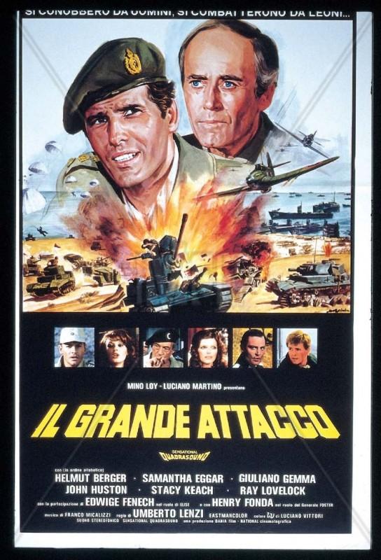 Il grande attacco: la locandina del film