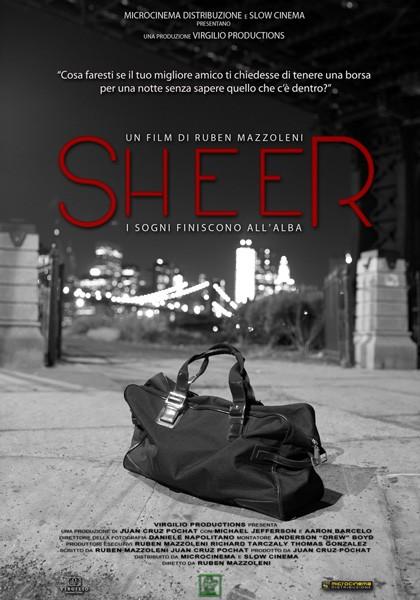 Sheer: la locandina del film