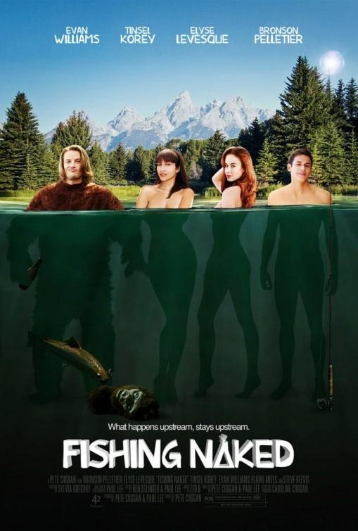 Fishing Naked: la locandina del film