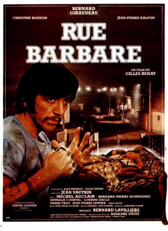 Rue barbare: la locandina del film