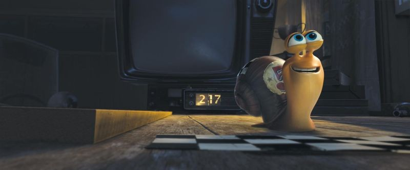 Turbo: la lumaca Turbo in una delle prime immagini del film animato in 3D