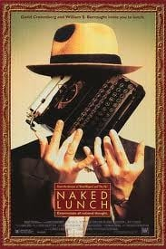 Il pasto nudo - locandina straniera del film.