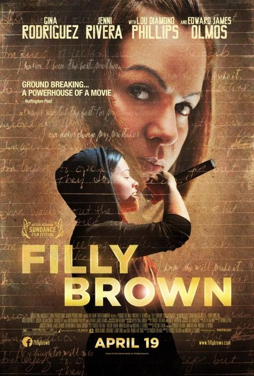 Filly Brown: la locandina del film