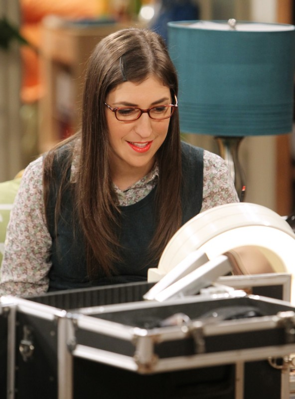 The Big Bang Theory: Mayim Bialik nell'episodio The Higgs Boson Observation