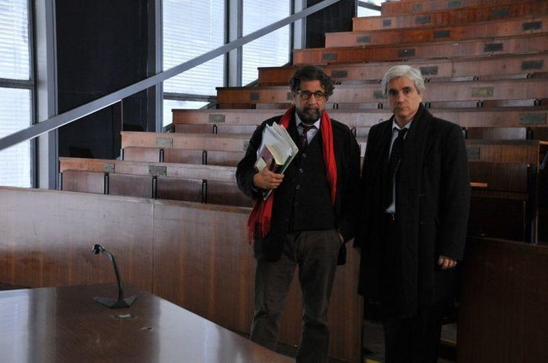 Una vita violata: Edoardo Siravo e Marco Di Stefano sul set del film
