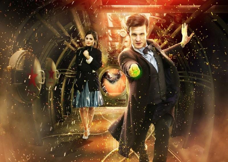 Doctor Who: un'immagine promozionale dell'episodio Cold War, settima stagione