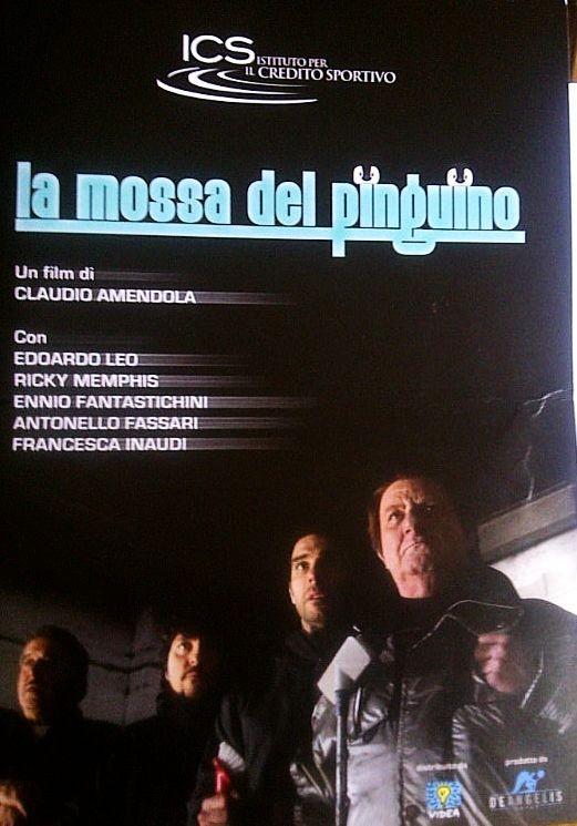 La mossa del pinguino: la copertina della cartella stampa