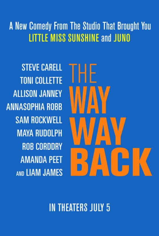 The Way, Way Back: la locandina del film