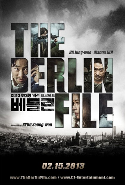 The Berlin File: la locandina del film