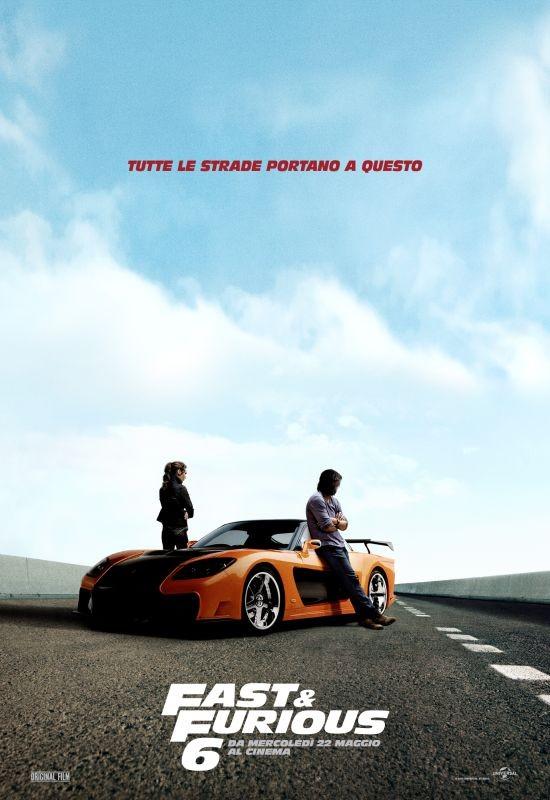 Fast & Furious 6: ancora un character poster dedicato agli eroi delle corse