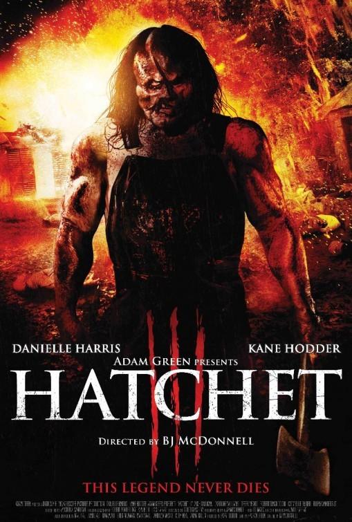 Hatchet 3: nuovo poster