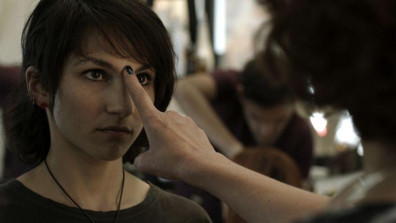 Il futuro: Manuela Martelli in una scena del film nei panni di Bianca