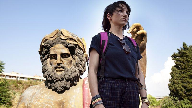 Il futuro: Manuela Martelli in una suggestiva scena del film