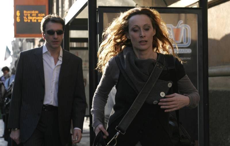 Il sole di Nina: Marco Casazza e Federica Restani in una scena del film