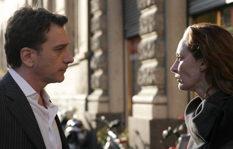Il sole di Nina: Marco Casazza insieme a Federica Restani in una scena del film