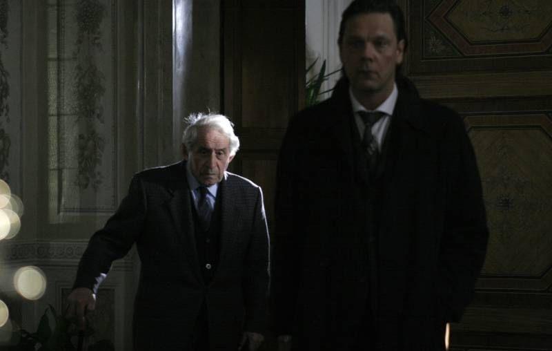 Il sole di Nina: Silvano Palmierini e Tapani Mononen in un'immagine del film