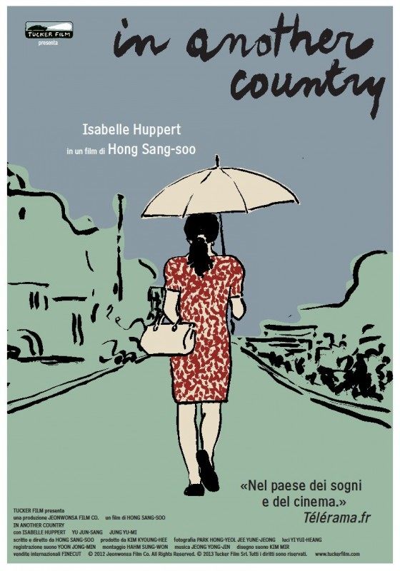 In Another Country: la locandina italiana del film