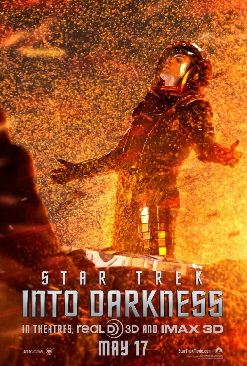 Star Trek Into Darkness: character poster per Zachary Quinto