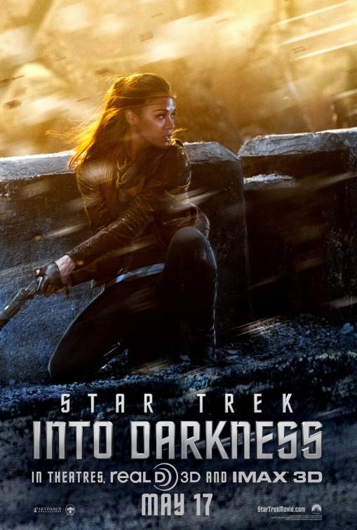 Star Trek Into Darkness: character poster per Zoe Saldana