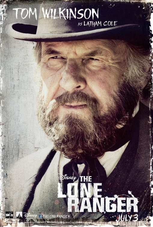 The Lone Ranger: il character poster di Tom Wilkinson
