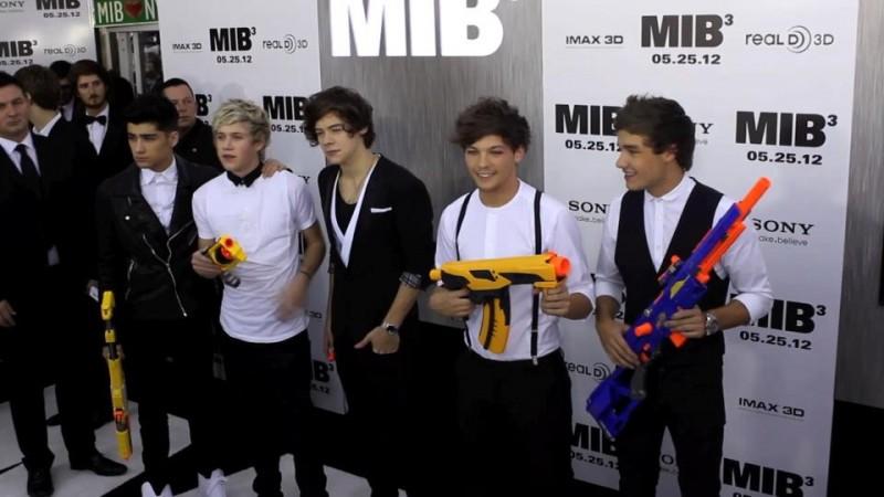 I Love One Direction: Harry Styles, Liam Payne, Louis Tomlinson, Niall Horan e Zayn Malik alla premiere di Men in Black 3
