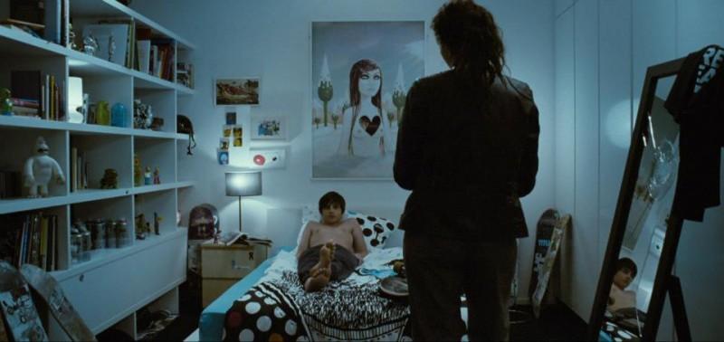 Martina Gedeck e Markus Krojer nel film Bastard