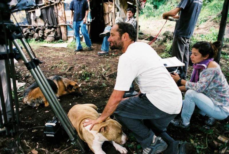 Post Tenebras Lux: il regista del film Carlos Reygadas sul set