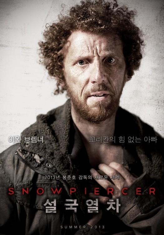 Snowpiercer: character poster per Ewen Bremner