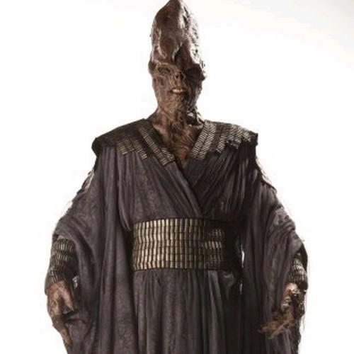 Un'immagine promozionale dell'episodio The Rings of Akhaten della settima stagione di Doctor Who