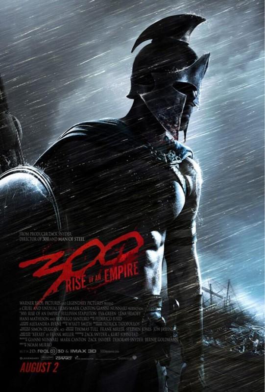 300: Rise of an Empire: la locandina del film