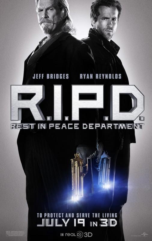 R.I.P.D.: la locandina del film