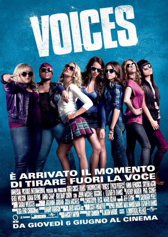 Voices: la locandina italiana del film
