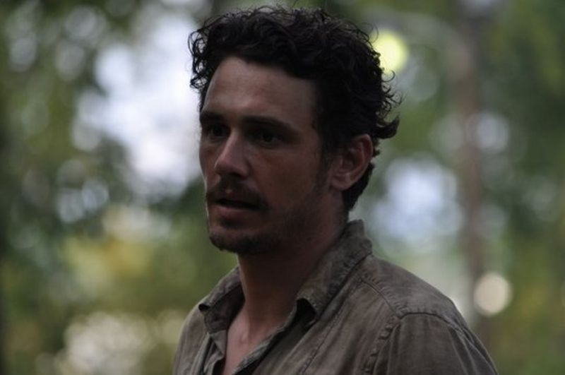As I Lay Dying: James Franco sul set del film