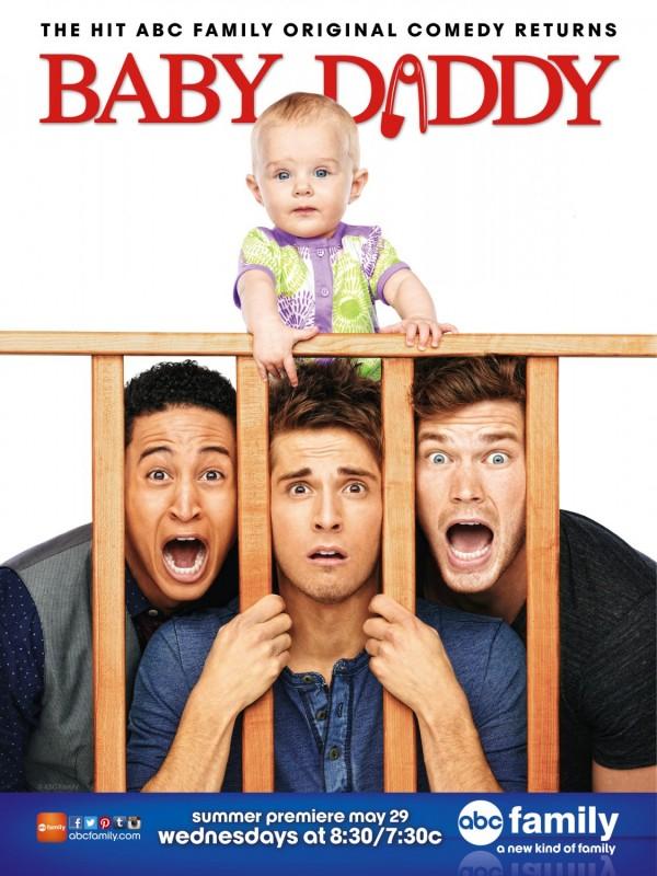 Baby Daddy: un poster della stagione 2