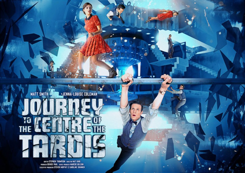 Doctor Who: un'immagine promozionale dell'episodio Journey to the Centre of the TARDIS