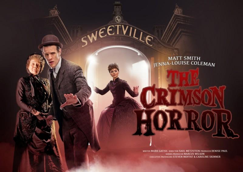 Doctor Who: un'immagine promozionale per l'episodio The Crimson Horror