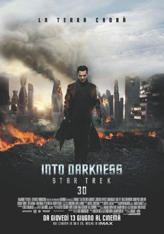Star Trek Into Darkness: destruction poster italiano del film
