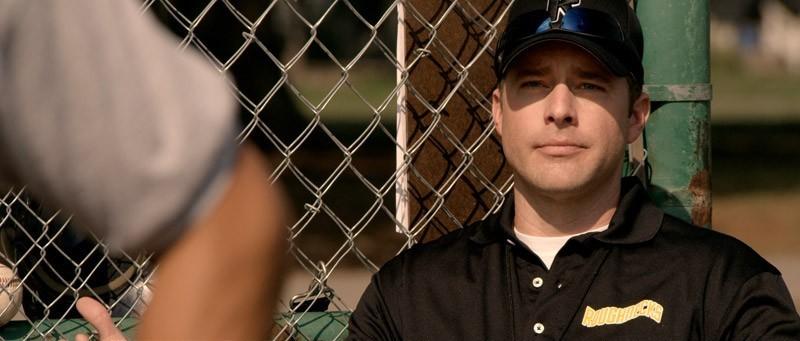 Home Run: Drew Waters in una scena del dramma sportivo