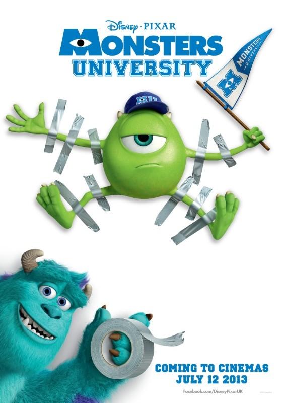 Monsters University: ancora un manifesto del film