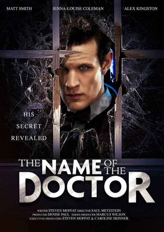 Doctor Who: un poster dell'episodio The Name of the Doctor