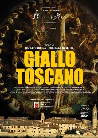 Giallo Toscano: la locandina del film