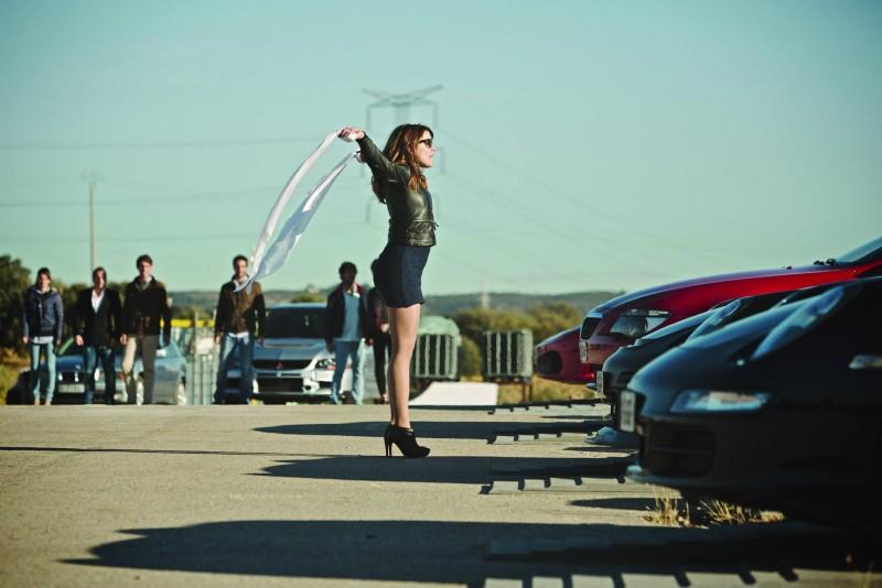Adriana Ugarte in una scena di Combustión